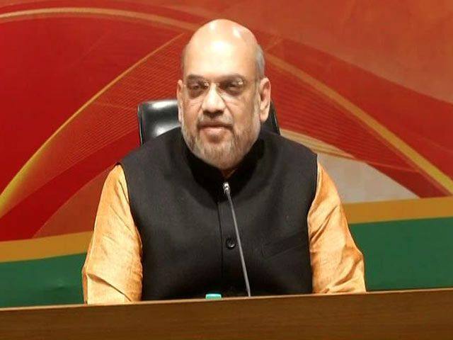 'People's Stamp On PM's Policies': Amit Shah On Results