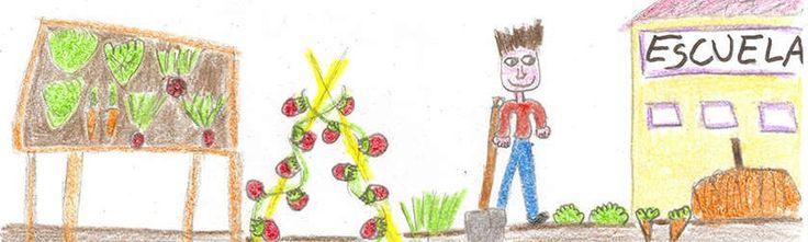 El #huerto urbano, los #niños /as y la #escuela www.ecobrotes.es