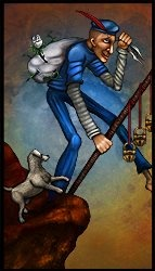 Tarot Deck of the Dreamers: The Fool  by Ethan James Petty    #tarotdayincanada