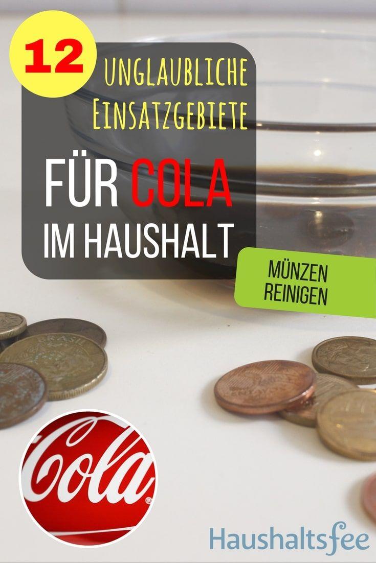 Münzen und Metalle reinigen mit Cola. 12 Möglichkeiten, Cola im Haushalt zu nutzen.