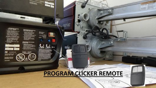 program clicker garage door opener How to Program Garage Door Opener Easily?