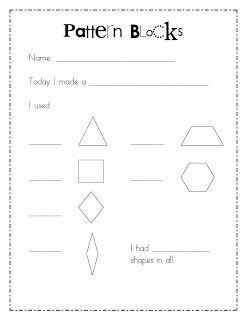 18 best Pattern blocks/geometric shapes images on Pinterest ...
