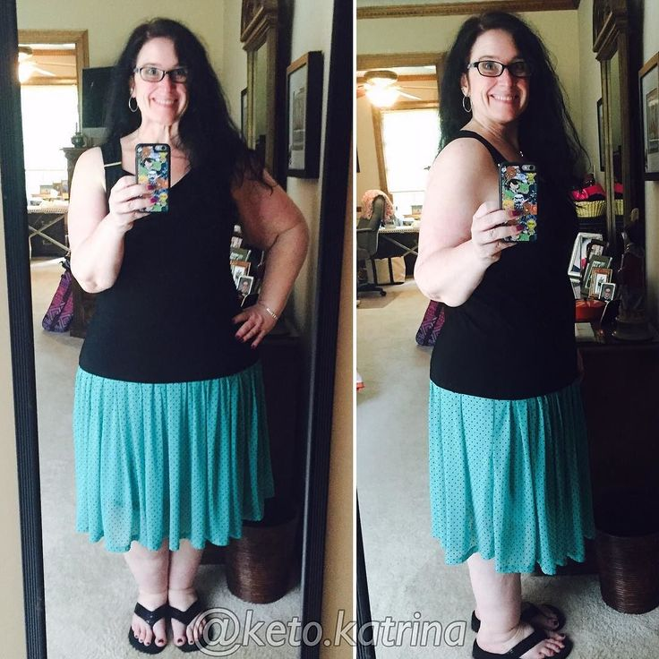 I am determined to be confident with this body of mine. With my battle scars of loose skin. My thick legs and ankles courtesy of #lipedema So - I try to wear things that press my comfort zone - and today showing that much leg and that much arm definitely pushed the comfort zone! But I did it - and went in public. I think it's good to flex your boundaries  #outfitoftheday #shopping #curves #curvy #plussize #plussizefashion #workout #weightloss #weightlossjourney #goals #paleo #lchf #lowcarb…