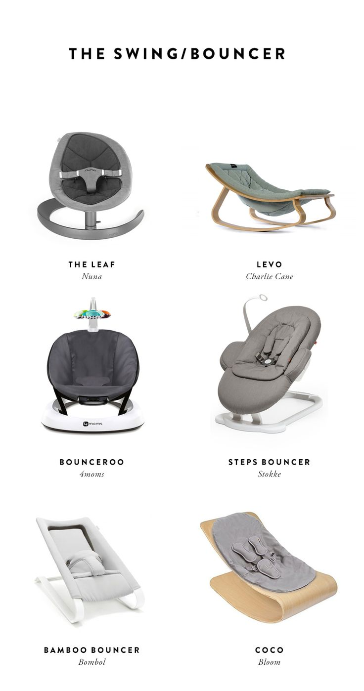 Creating a Smart Baby Registry - bouncers | The Fresh Exchange