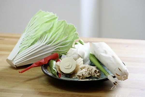 Kimchi Paper food by faltmanufaktur