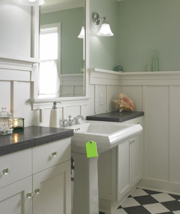 1000 images about wainscoting with picture ledge on pinterest wainscoting wainscoting ideas for How high should wainscoting be in a bathroom