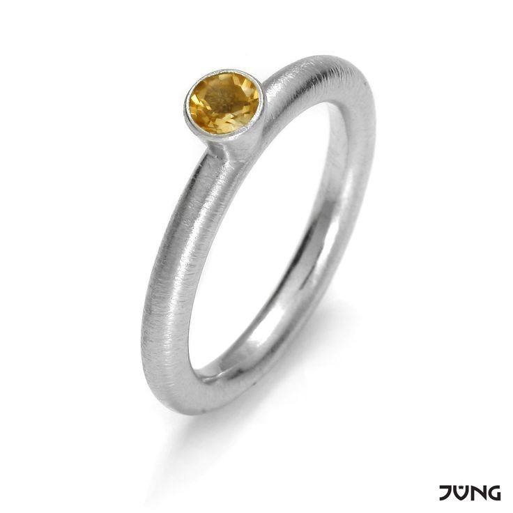 silver ring with citrine  http://en.dawanda.com/product/95077723-silver-ring-with-citrine