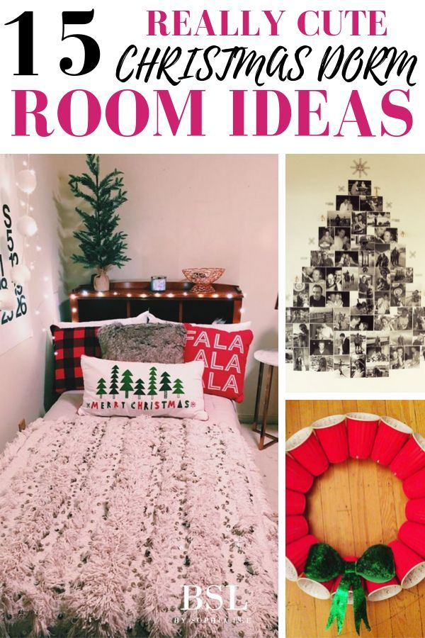 15 Extremely Cute Dorm Christmas Decorations To Copy This Year By Sophia Lee Christmas Dorm Decorations Christmas Dorm Dorm Room Christmas Decorations