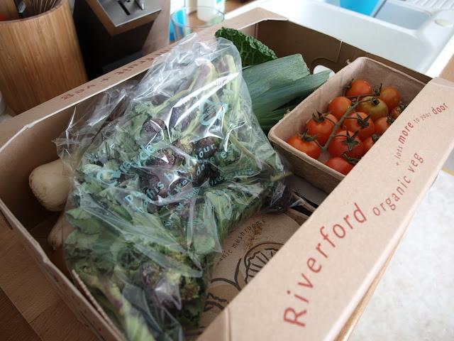 Riverford organics veg box scheme