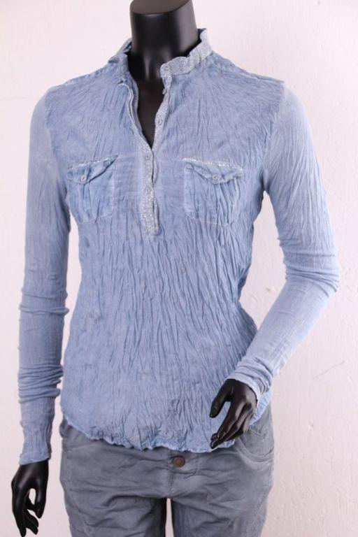 Copenhagen Luxe Skjorte Blue 7342 - Skjorter - MaMilla
