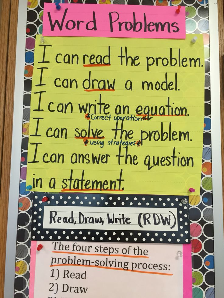 2nd grade math word problem success criteria for multi step problems dealing with addition and subtraction. Self assessment, accountable learning.