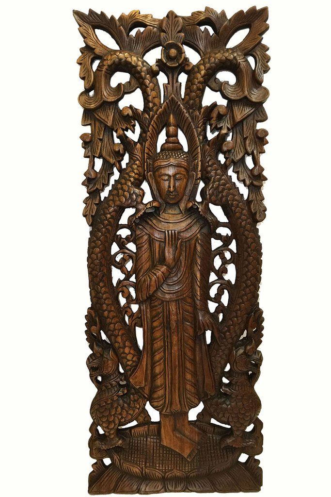 Wood Wall Art Decor 78 best carved wood wall decorasiana home decor images on