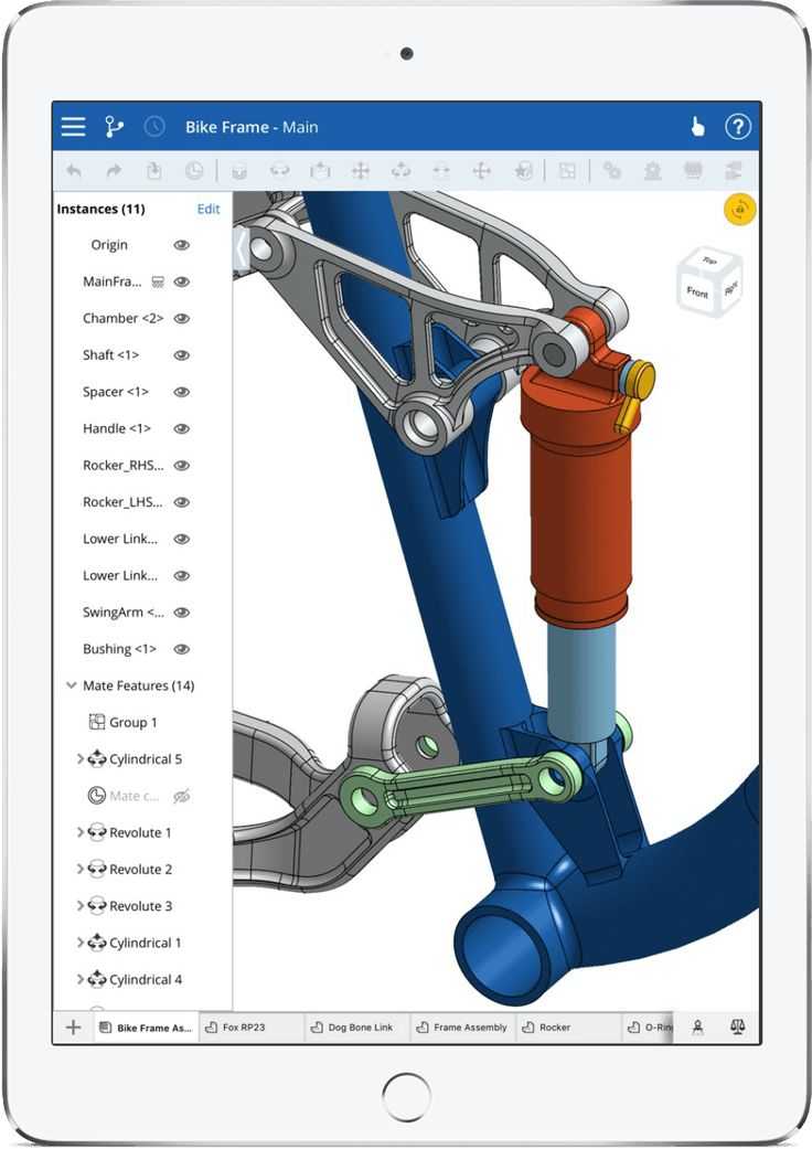 Onshape is the first and only full-cloud 3D CAD system that lets everyone on a design team simultaneously work together using a web browser, phone or tablet.