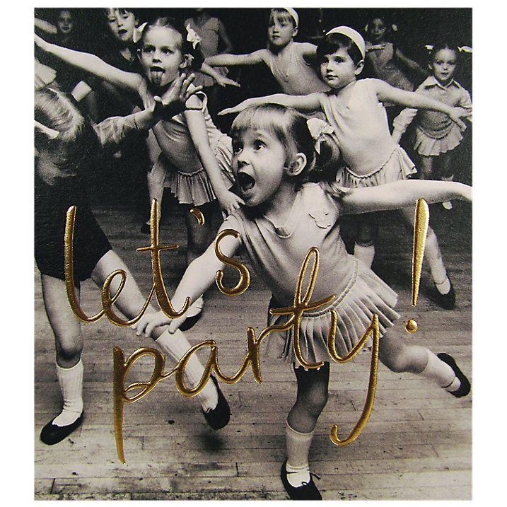 Buy Woodmansterne Little Girls Dancing Birthday Card Online at johnlewis.com