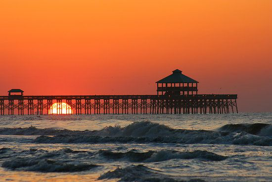Folly Beach, South Carolina - my grandmother owned a place just a few blocks from the beach. Good times.
