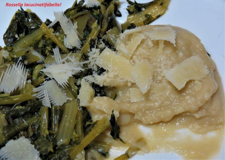 La mia proposta di oggi è legata al… Un piatto della tradizione pugliese per eccellenza protagonista della GN delle fave e pecorino. Ingredienti semplici, la cicoria selvatica o le erbe amare, le f…