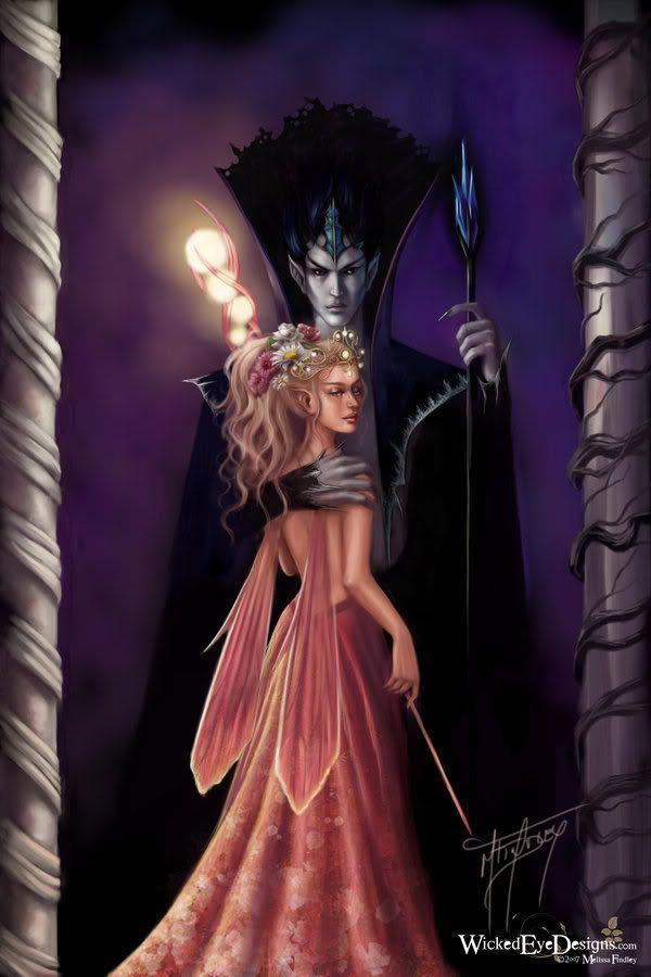 unseelie king, seelie queen In european faerie lore, faeries could ...