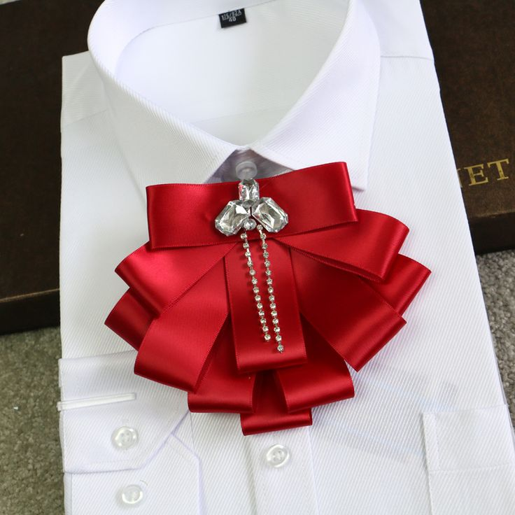 luxury men's bow tie for formal occasions groom groomsmen Presided over a formal groom wedding tie