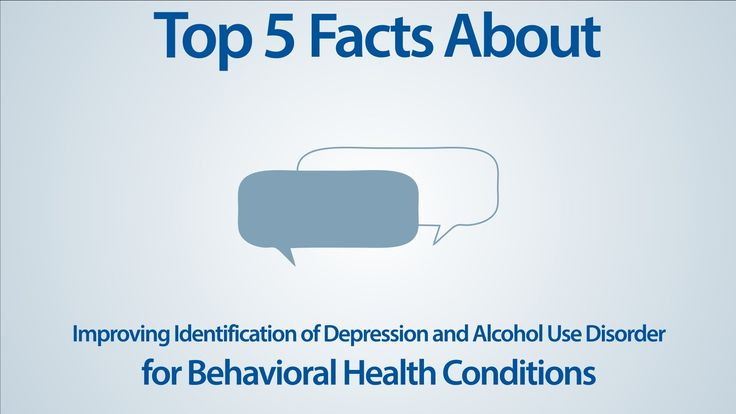 """Top Five Facts about Improving Identification of Depression and Alcohol Use Disorder -   WATCH VIDEO HERE -> http://bestdepression.solutions/top-five-facts-about-improving-identification-of-depression-and-alcohol-use-disorder/      *** Top Five Depression Signs ***   Here are the top 5 facts about improving the identification of depression and alcoholism disorder. To participate in this initiative or for more information, contact info@lsqin.org. Music: """"Paris"""" b"""