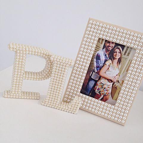 Paulo e Luciana! ✨✨ #portaretratodeperolas #portaretrato #letradonome #letradecorada #letradeperolas #casamento #decoração #decoraçãocasamento #perolas #mundoperolado #ehsucesso