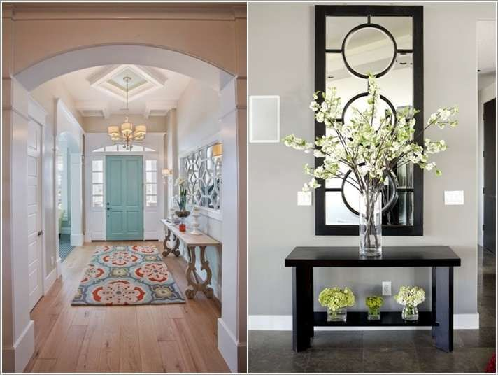 home entrance furniture. plain entrance 15 amazing hallway wall decor ideas for your home with entrance furniture