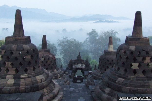 Temples are OK, but they're truly amazing when they tower out of a jungle cloaked in mist.