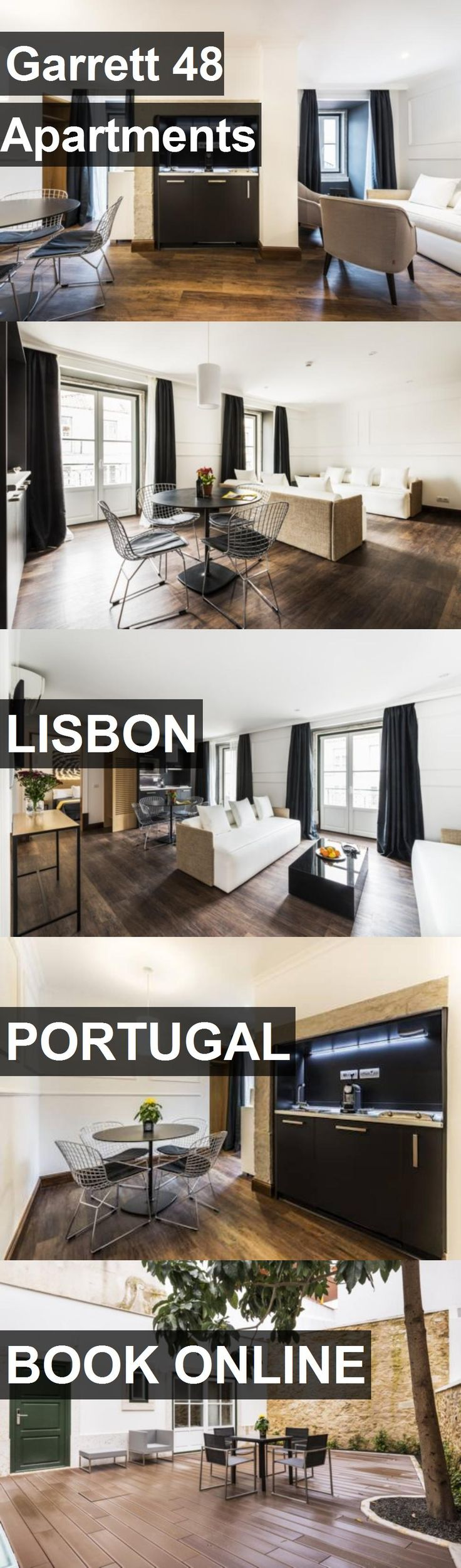Garrett 48 Apartments in Lisbon, Portugal. For more information, photos, reviews and best prices please follow the link. #Portugal #Lisbon #travel #vacation #apartment