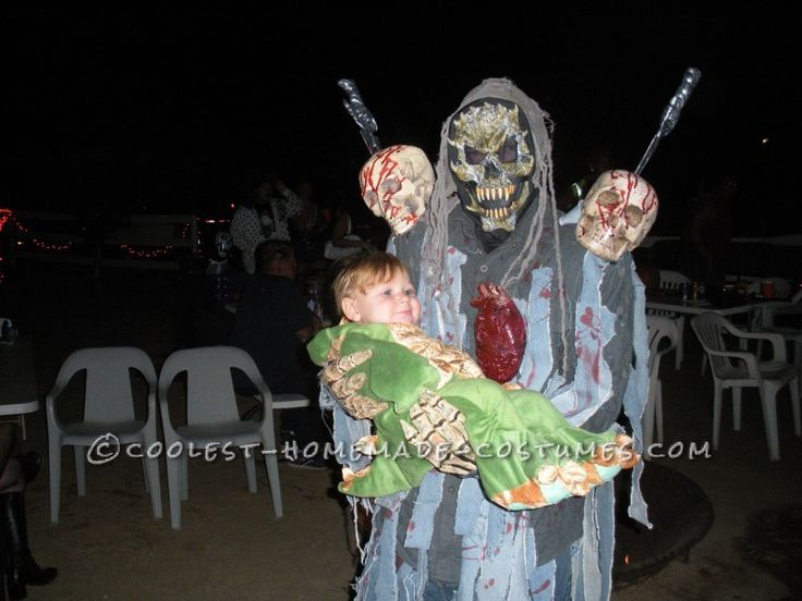 creepy and scary halloween costume on a budget - Pictures Of Scary Halloween
