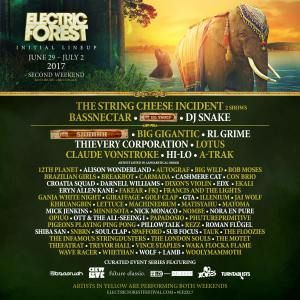 Electric Forest Announces Lineups for Both Weekends http://ift.tt/2fDpDmX