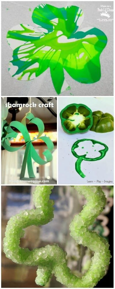 12 unique and adorable shamrock crafts for kids