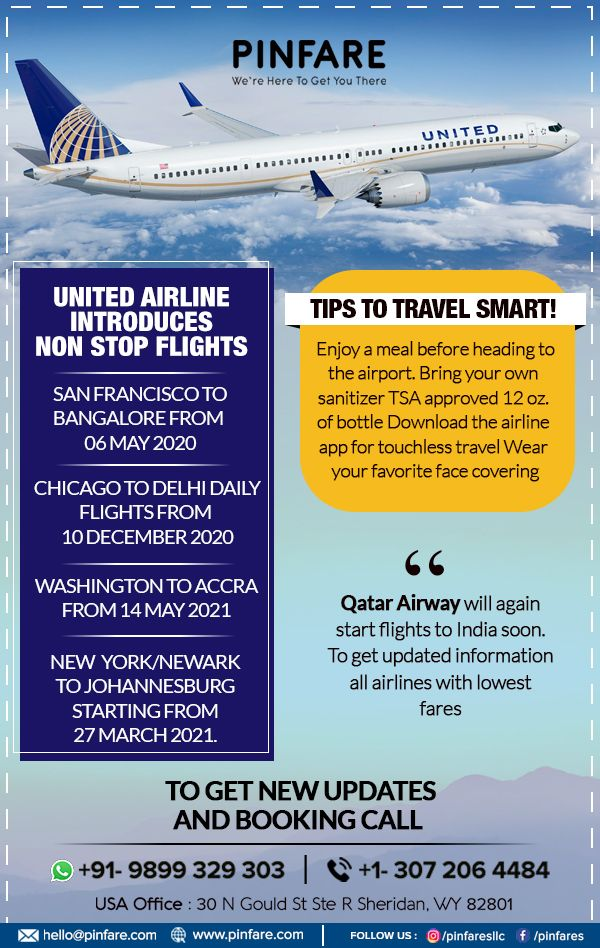 United Airline Introduces Non Stop Flights Cheap Flight Deals United Airlines Cheap Flights