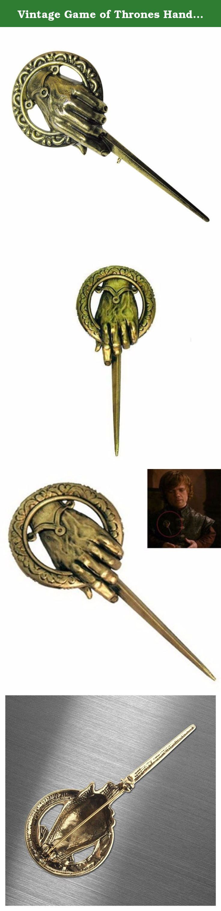 Vintage Game of Thrones Hand of the King Lapel Replica Costume Pin Brooch New. Due to the difference between different monitors, the picture may not reflect the actual color of the item. Thank you!.