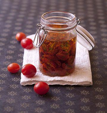 Tomates cerises séchées et confites - les meilleures recettes de cuisine d'Ôdélices