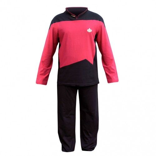 Star Trek The Next Generation Command Pajama Set | Shop By Category | Apparel & Accessories | Sleepwear & Robes | Star Trek Store