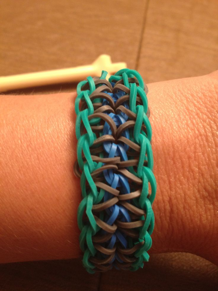 I think these new rainbow loom bracelets are really cool...I want to get a kit and make a whole bunch