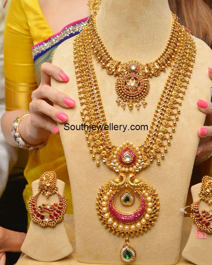 Antique Long Chain latest jewelry designs - Jewellery Designs