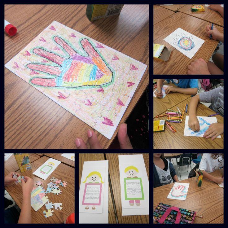 Sunny Days in Second Grade: First Day Fun!Kisses Hands, Start Schools, Back To Schools, Schools Ideas, First Day Fun, Art Activities, Schools Years, 2Nd Grade, Second Grade