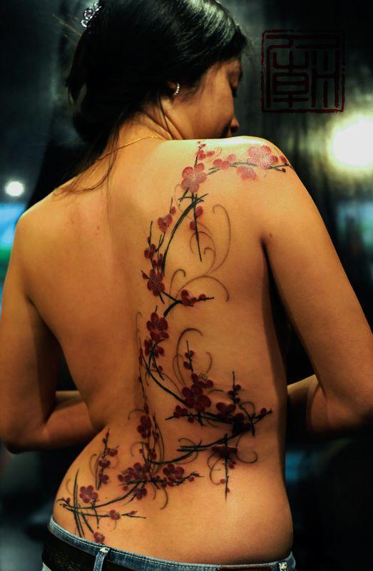 Blossom Tattoo, Joey Pang (Tattoo Temple)