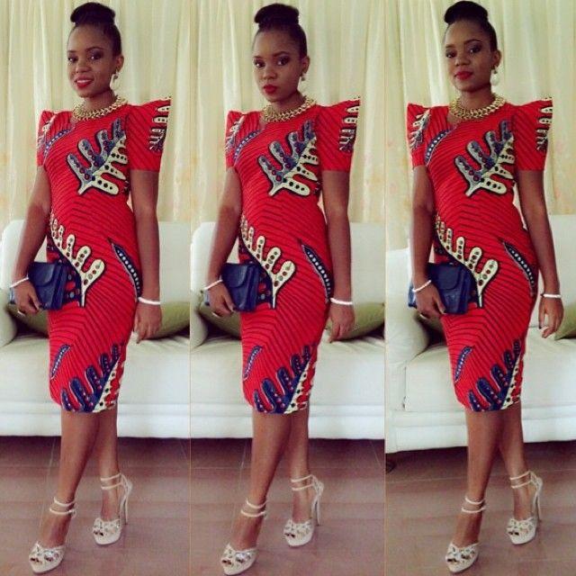ankara gown (1) http://maboplus.com/sensational-short-gown-styles-for-nigerian-ladies/