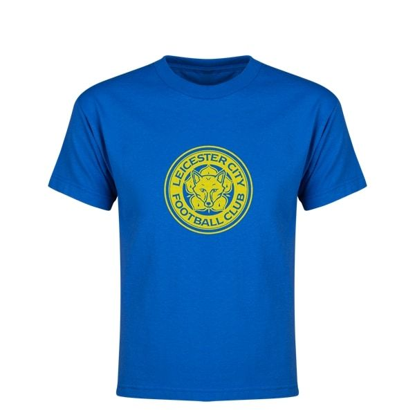 Leicester City FC Youth T-Shirt (Royal)