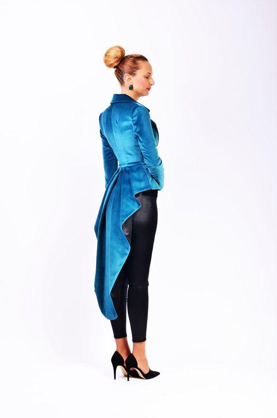 Mina velvet couture jacket by lauragalic on Etsy, $249.90