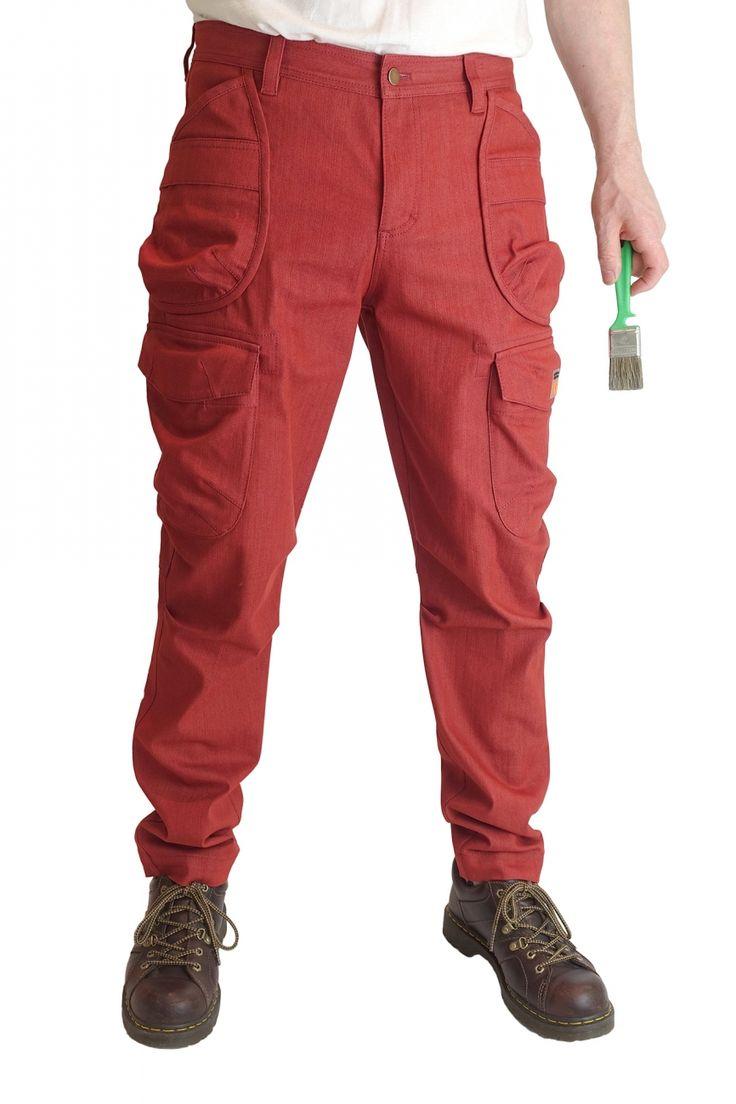 Галифе карго джинсы стрейч  мужские брюки
