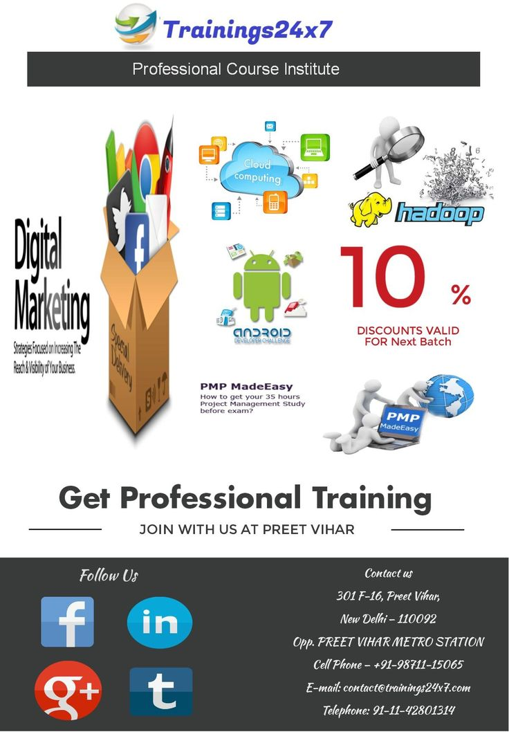 Get certified Digital marketing training,SEO and PPC training in delhi  by certified and industry experts with a live project Certification..