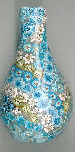 Sea Garden Millefiori Vase