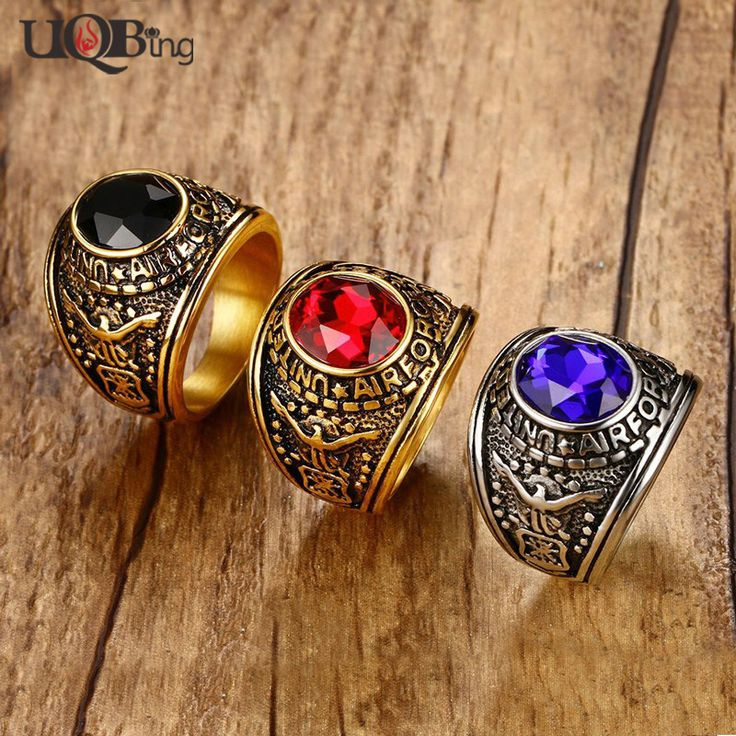 Europe And American Fashion Men's Rings Jewelry Vintage