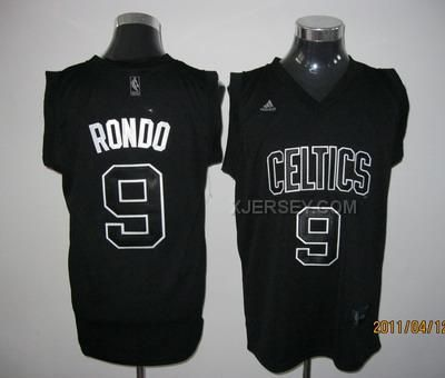 c12029d4b ... Jersey httpwww.xjersey.comceltics-9-rondo-. Blackest BlackBoston ...  Mens Boston Celtics Rajon ...