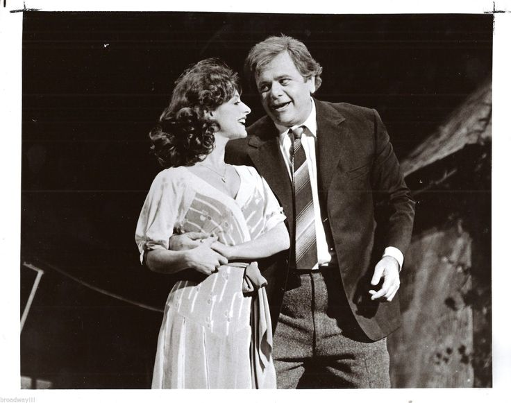 "Patti LuPone ""THE BAKER'S WIFE"" Paul Sorvino 1976 FLOP Martha Swope Press Photo | eBay"