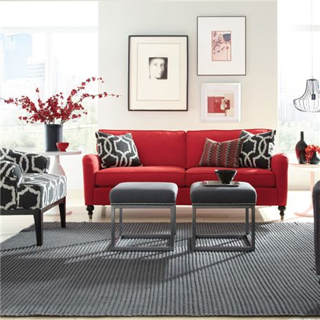 Eames Customizable Sofa - Furniture Store, St. Louis, Missouri. Phillips  Furniture - - 40 Best Images About Affordable Living Room Furniture On Pinterest
