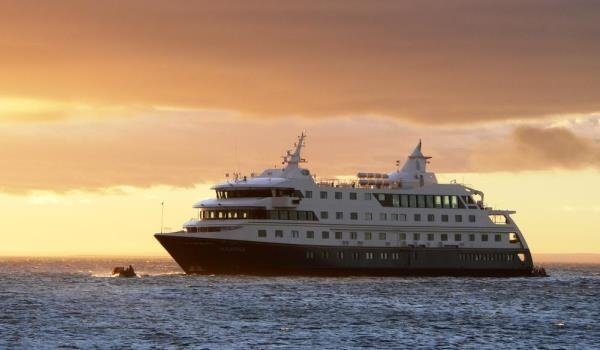 Our fleet is conformed of two cruise ships in South America