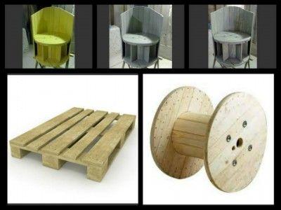 les 25 meilleures id es concernant chaise de bobine sur pinterest bobines de laine tables. Black Bedroom Furniture Sets. Home Design Ideas